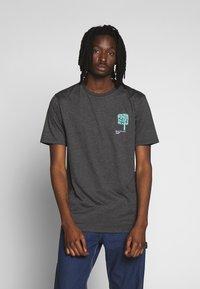 Volcom - GROWN HTH SS - Camiseta estampada - anthracite - 0