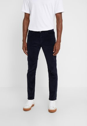 STRETCH PARKER - Trousers - midnight