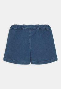 Mini Rodini - DENIM STRAWBERRY SHORTS UNISEX - Denim shorts - blue - 1