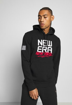 CONTEMPORARY GRAPHIC HOODY NEW ERA - Mikina s kapucí - black