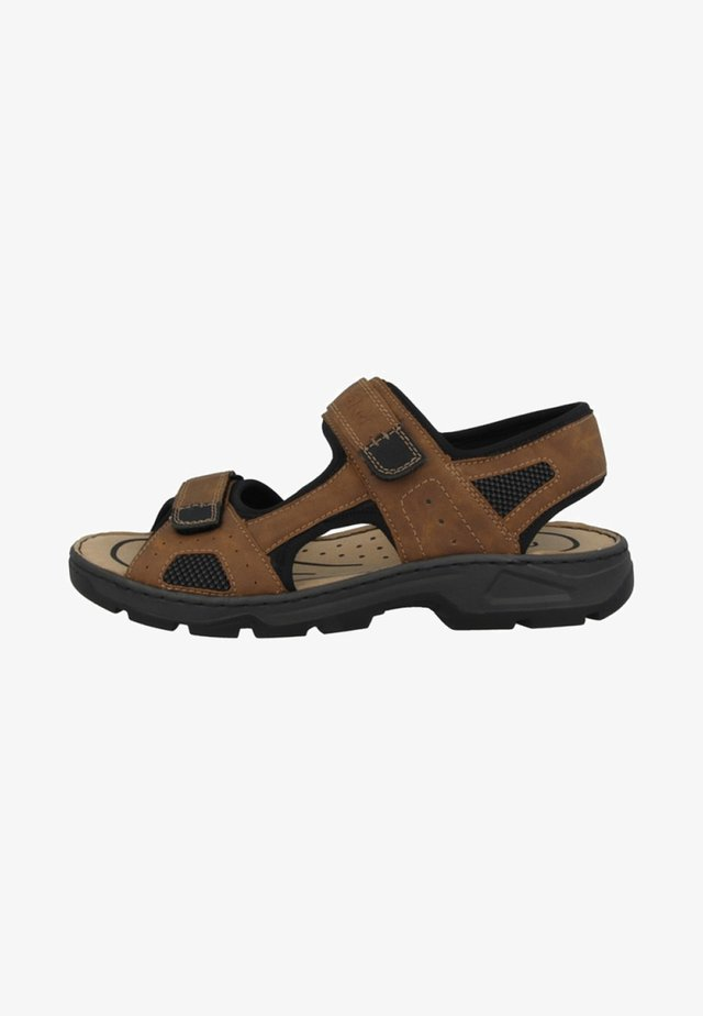 AUXERRE-SCUBA-TECHKNIT-OILYBUK - Outdoorsandalen - brown