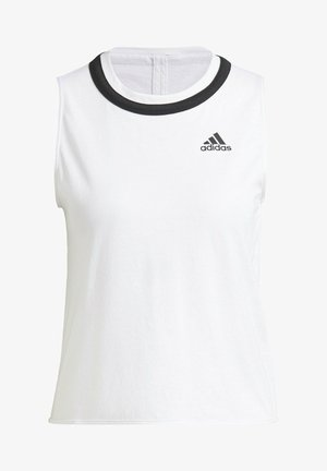CLUB KNOT TANK TENNIS AEROREADY PRIMEGREEN REGULAR TOP - Toppi - white