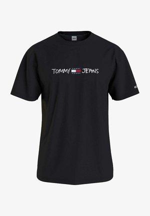 CAMISETA - Print T-shirt - black