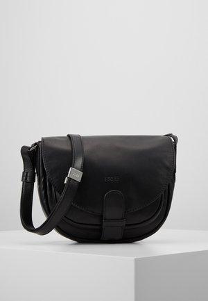 LADY TOP  - Across body bag - black