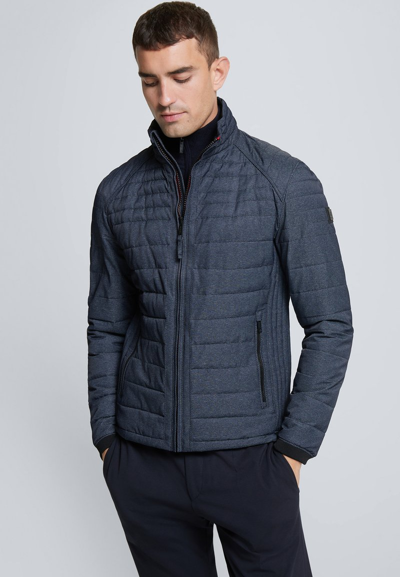 Strellson - CLASON - Light jacket - navy meliert