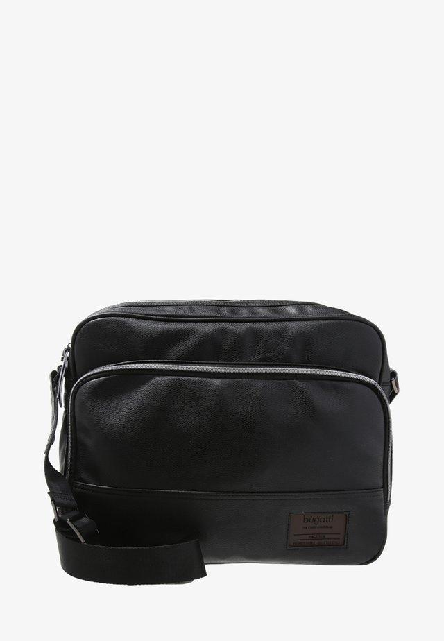Across body bag - schwarz