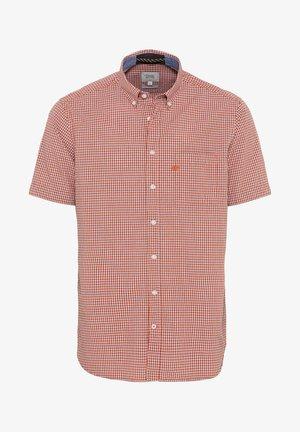 Shirt - rot-blau /mittel