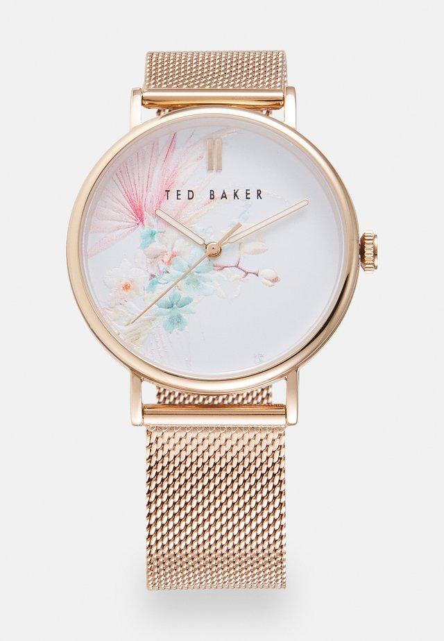 PHYLIPASERENDIPITY - Horloge - rose