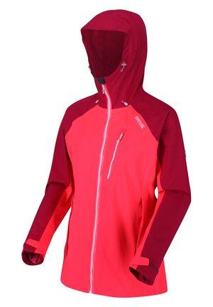 BIRCHDALE  - Outdoor jacket - neonpk/dkcer