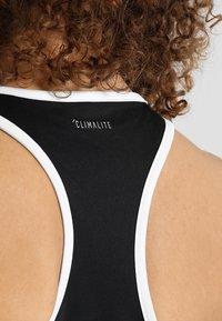 adidas Performance - CLUB TANK - Sports shirt - black - 4