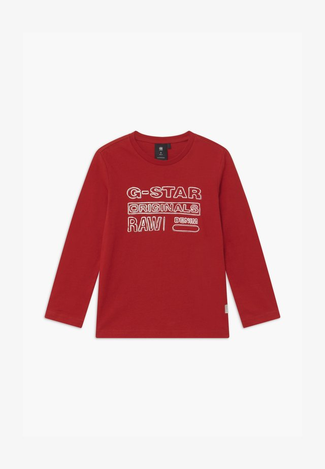 TEE - Longsleeve - red