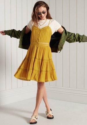 ALANA - Day dress - autumn mustard