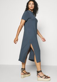 Simply Be - MIDI DRESS WITH SIDE SPLIT - Day dress - charcoal - 3