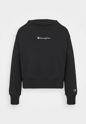 HIGH NECK ROCHESTER - Sweater - black