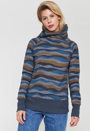 KYNUNA - Sweatshirt - deep ocean / waves