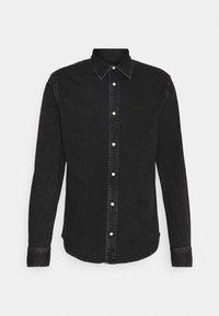 Calvin Klein Jeans - SLIM FOUNDATION  - Skjorta - black - 0
