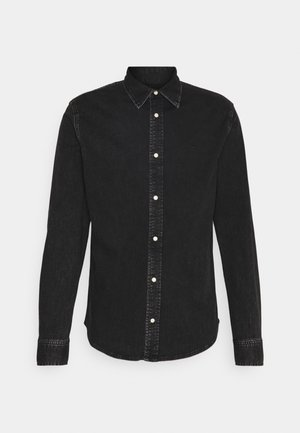 SLIM FOUNDATION  - Shirt - black