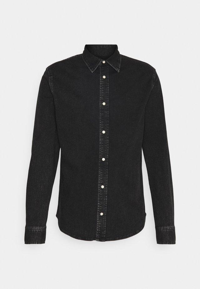 SLIM FOUNDATION  - Shirt - black