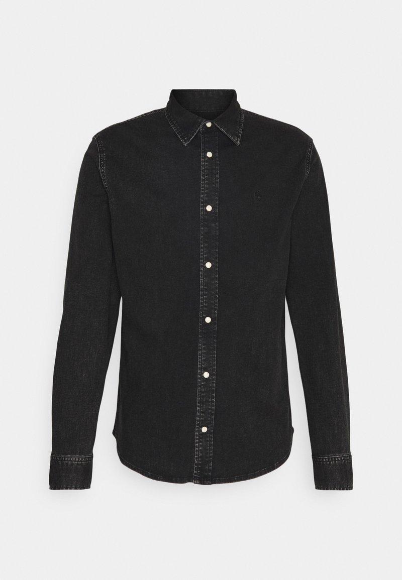 Calvin Klein Jeans - SLIM FOUNDATION  - Skjorta - black