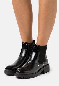 Miss Selfridge - BOOM CHUNKY CHELSEA - Classic ankle boots - black - 0