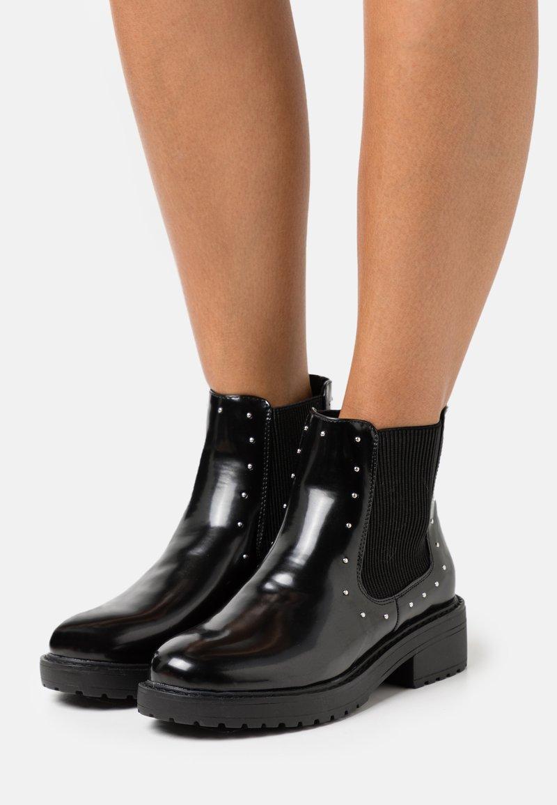 Miss Selfridge - BOOM CHUNKY CHELSEA - Classic ankle boots - black