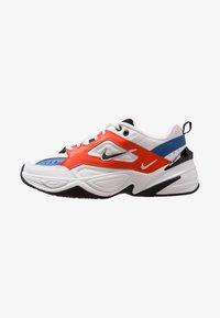 Nike Sportswear - M2K TEKNO - Sneakersy niskie - summit white/black/team orange/mountain blue - 1