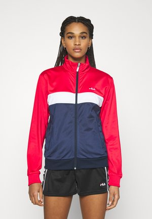 ELERI TRACK JACKET - Training jacket - black iris/true red/bright white