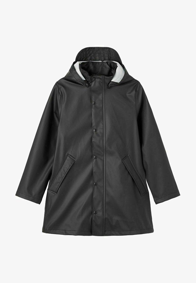 Name it - Regnjakke / vandafvisende jakker - black