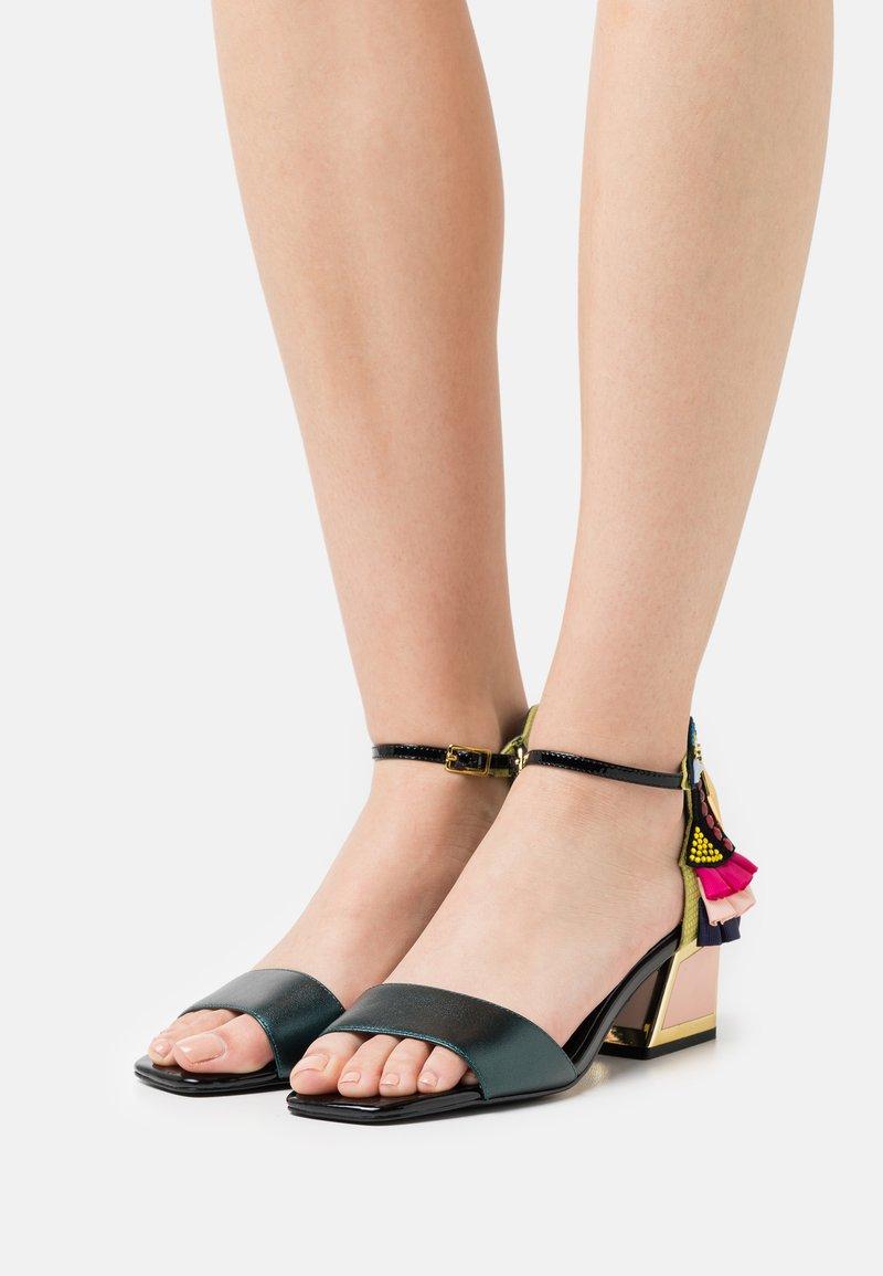 Kat Maconie - KAY - Sandals - moss/multicolor