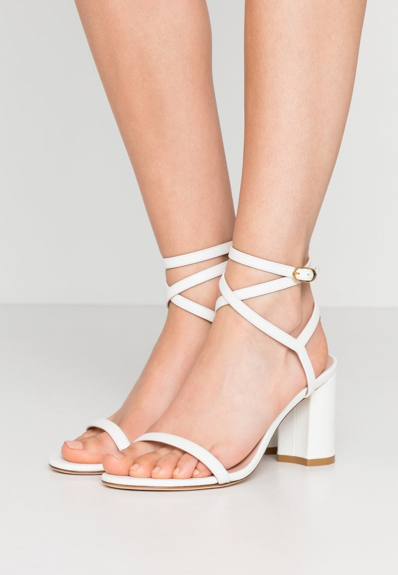 Stuart Weitzman - MERINDA BLOCK - Bridal shoes - white