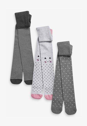 3 PACK MONO CHARACTER - Over-the-knee socks - multi-coloured