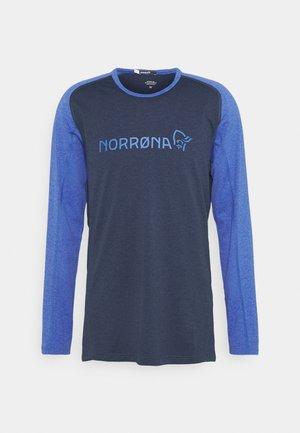 FJØRÅ EQUALISER LIGHTWEIGHT LONG SLEEVE - T-shirt à manches longues - olympian blue/indigo night