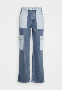 BDG Urban Outfitters - SKATE PATCHWORK - Jeans relaxed fit - blue - 4