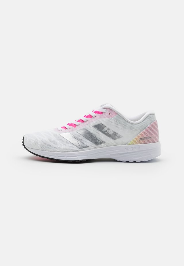 ADIZERO RC 3 - Scarpe running da competizione - footwear white/silver metallic/screaming pink