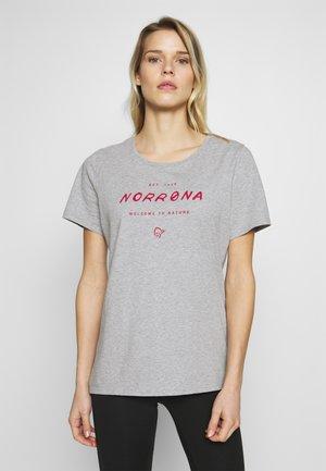 LEGACY - T-shirts med print - grey melange