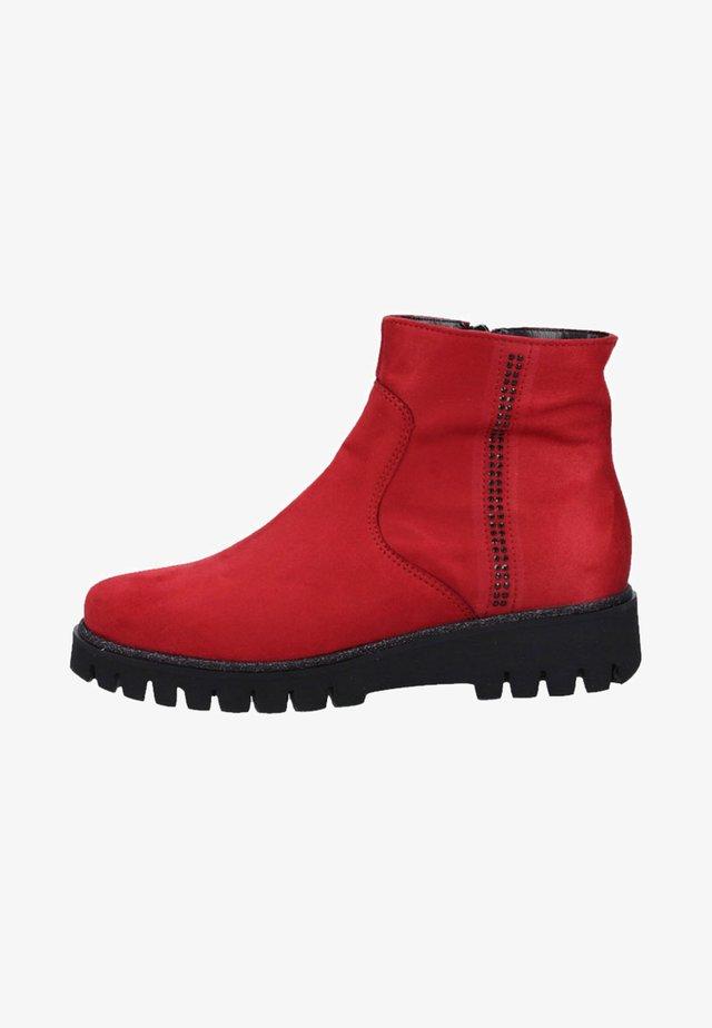 Korte laarzen - rubin