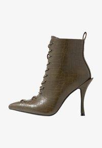 BEBO - LEGACY - High heeled ankle boots - khaki - 1