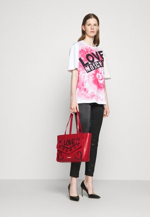 GRAFFITI - Handbag - red