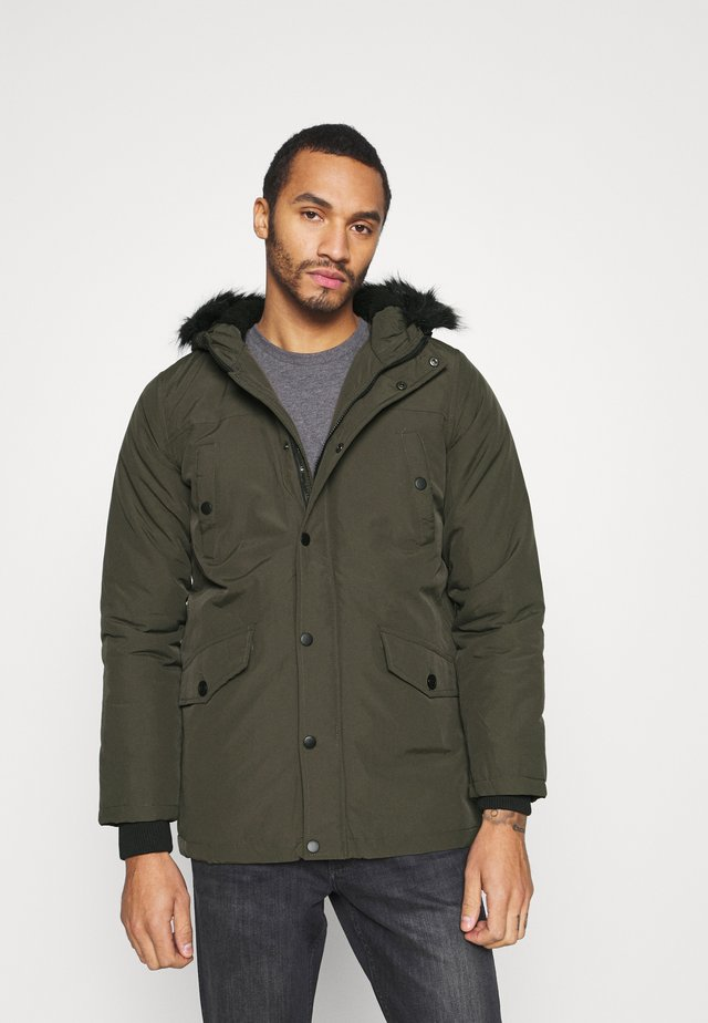 WONDERWALLK - Winter coat - khaki