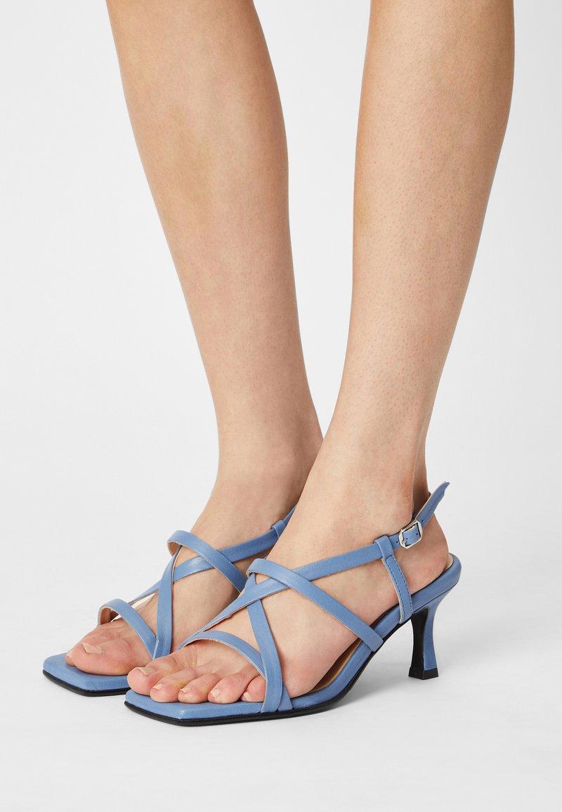 Selected Femme - SLFASHLEY  - Sandals - arctic ice