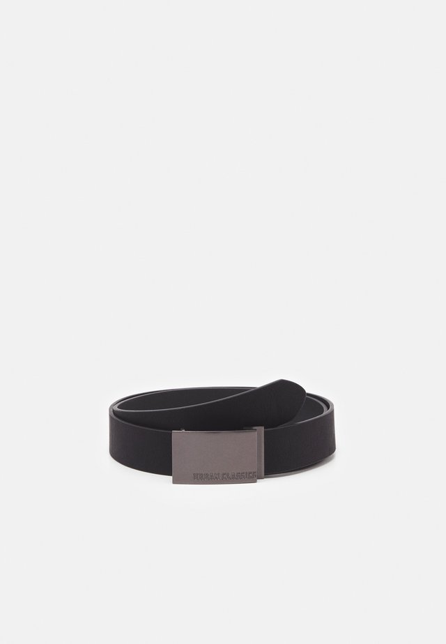 IMITATION BUSINESS BELT - Formální pásek - black