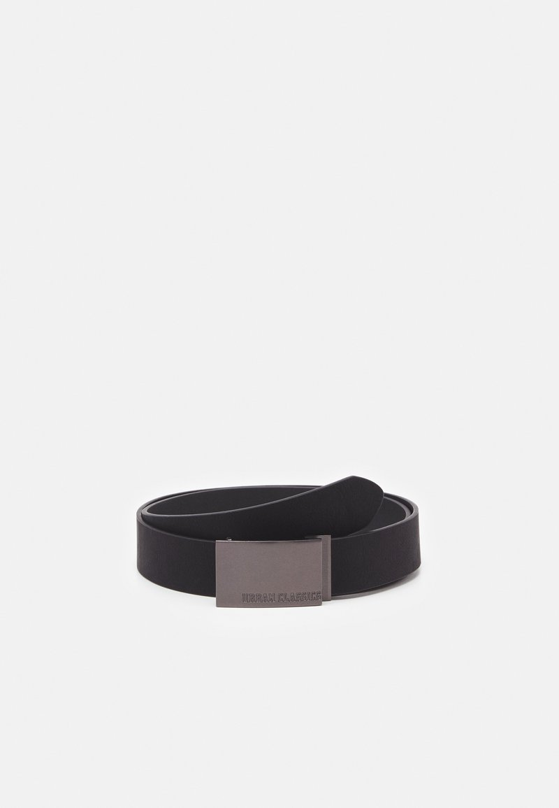Urban Classics - IMITATION BUSINESS BELT - Belt business - black