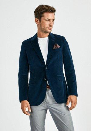 STRETCH CORD - Blazer jacket - navy