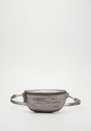 TAVIA - Bum bag - silver