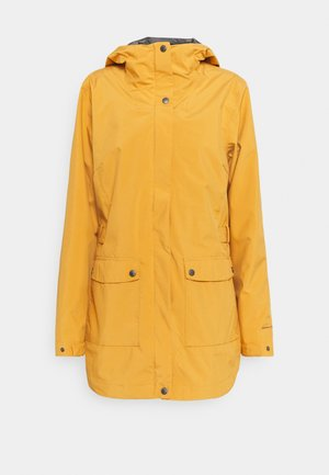 HERE AND THERE™ TRENCH JACKET - Sadetakki - canyon sun