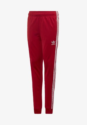 SST TRACKSUIT BOTTOMS - Tracksuit bottoms - red