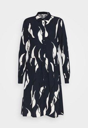 OBJALORA DRESS - Vestito estivo - sky captain/abstract leaves