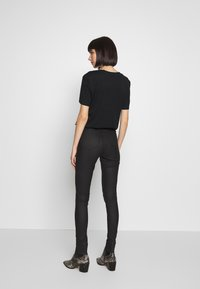 Topshop - COATED JONI - Jeans Skinny Fit - black - 2