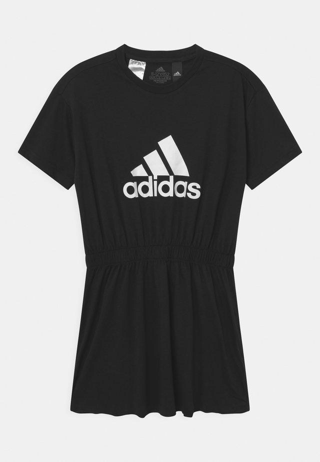 DANCE  - Jerseykleid - black/white