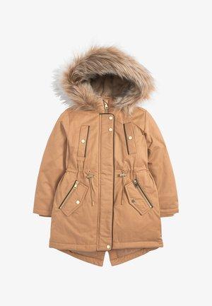 Winter coat - gold